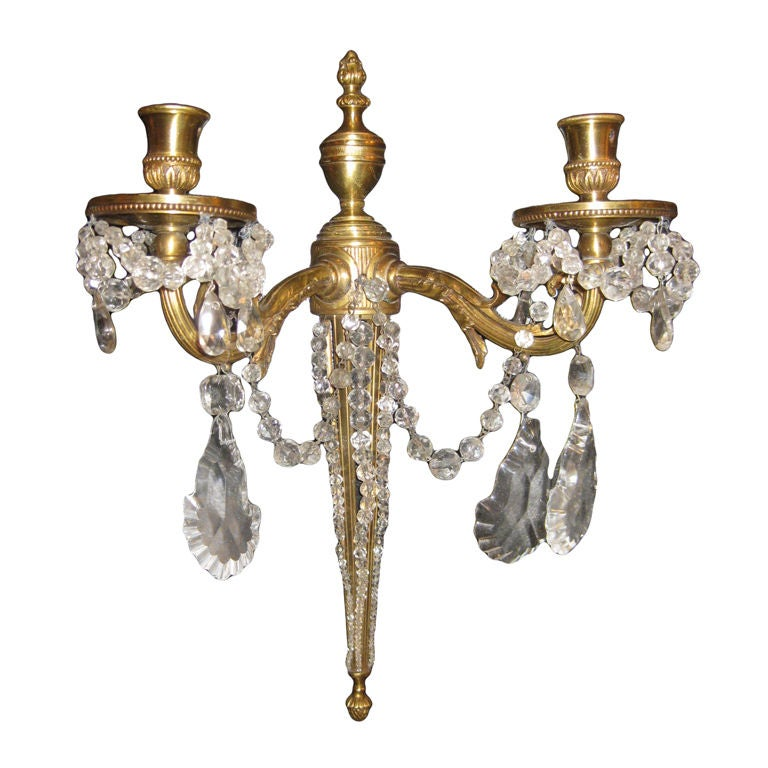 Four Pairs Of French Louis XVI Style Sconces