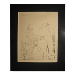 Picasso Etching