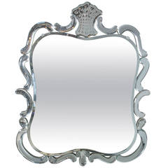 1940s Venetian Etched Mirror