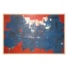 1950's Abstract Painting