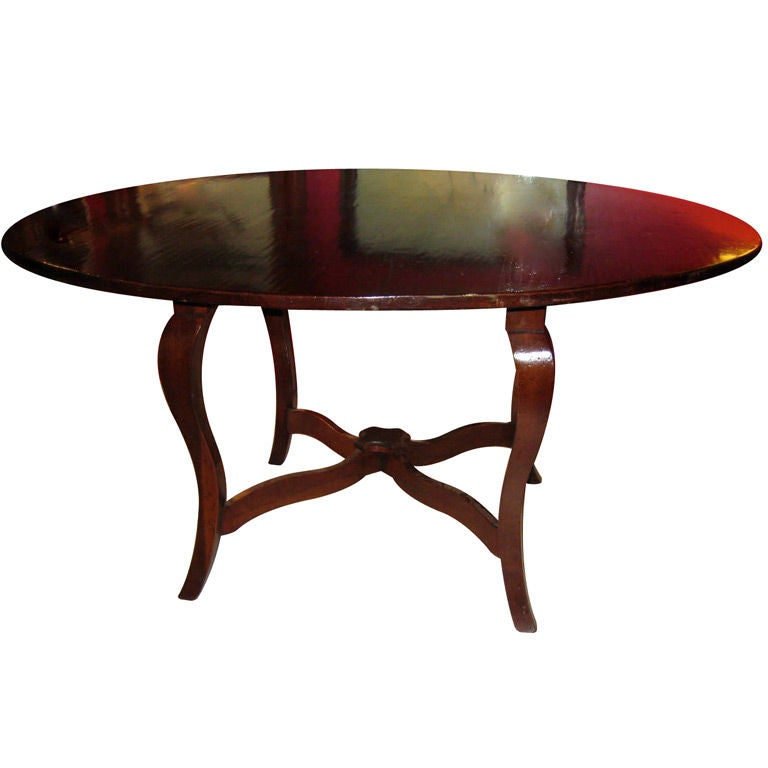 Large French Country Style Dining Table At 1stdibs