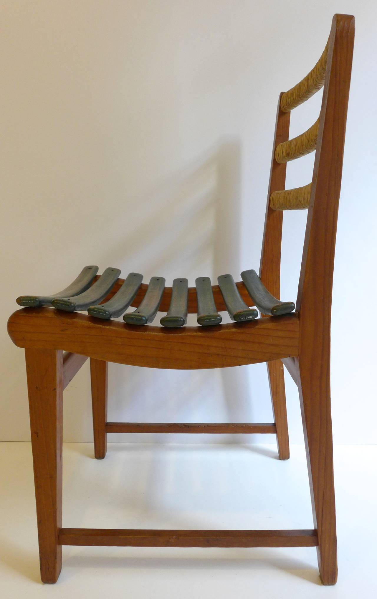 Mid-Century Modern Michael Van Beuren Chair for Domus For Sale