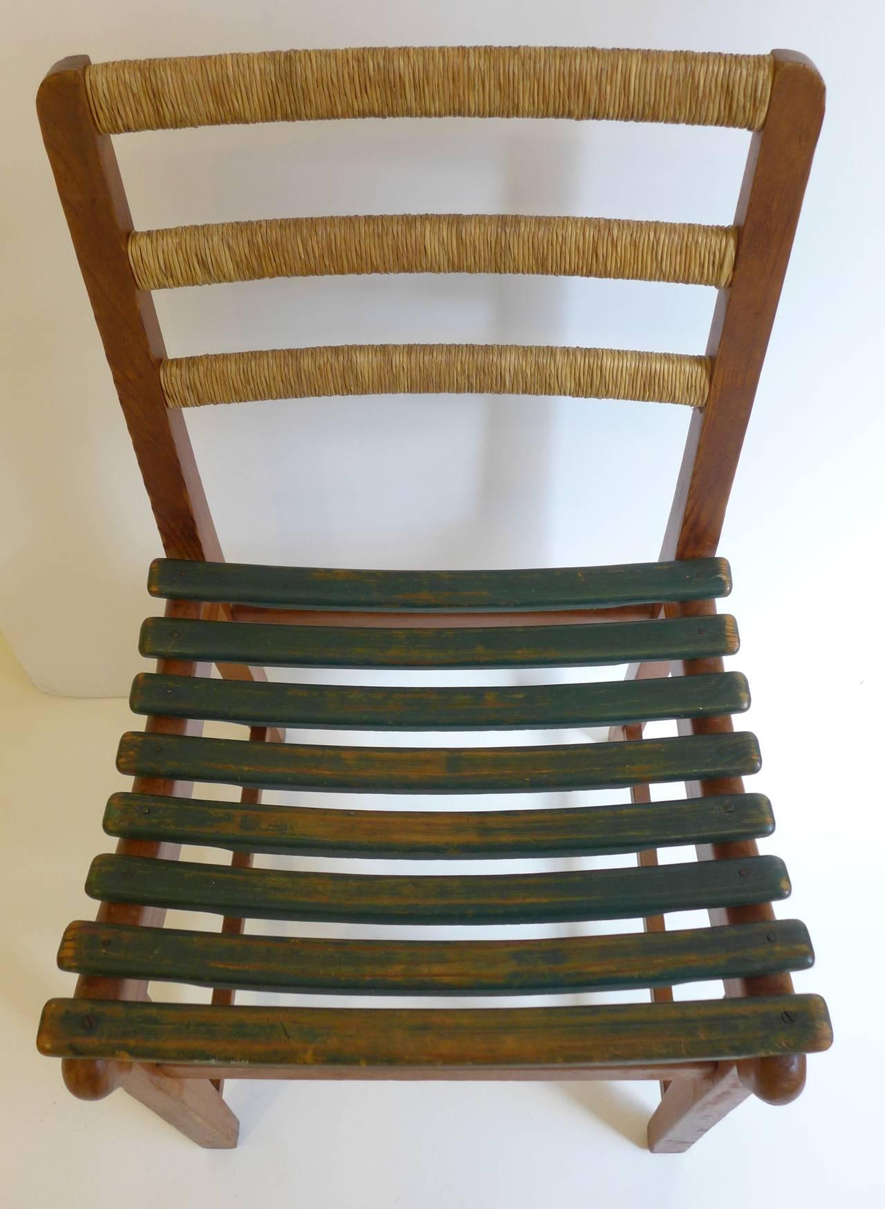 Mid-20th Century Michael Van Beuren Chair for Domus For Sale