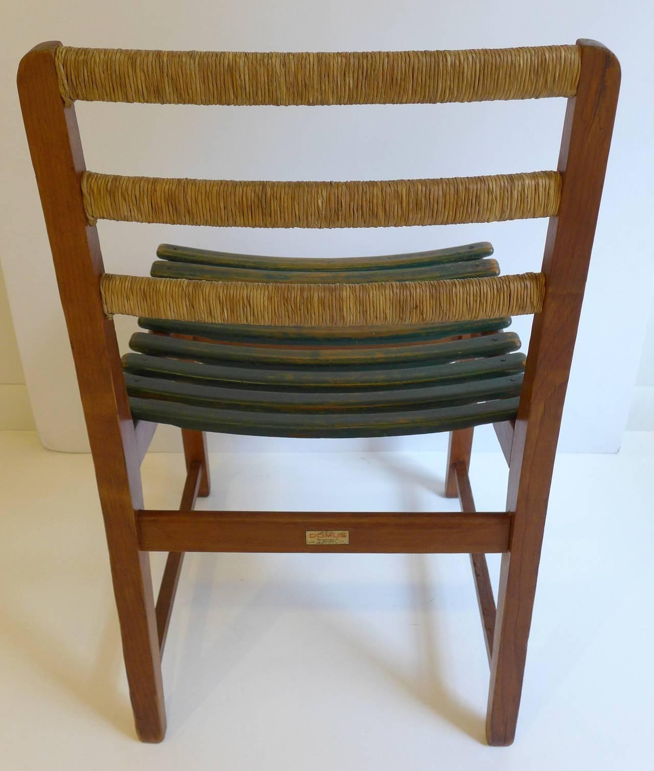 Pine Michael Van Beuren Chair for Domus For Sale