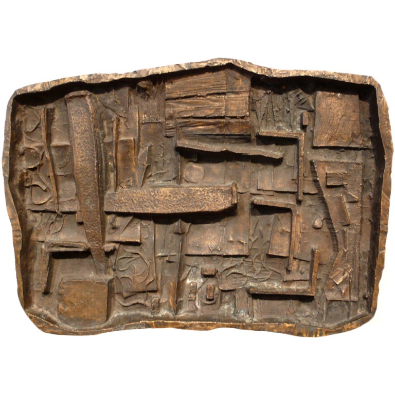 Abbott pattison abstract bronze wall sculpture for sale at for Bronze wall art