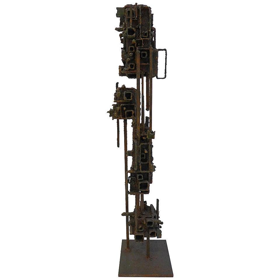 """James Bearden Sculpture, """"Tower"""""""