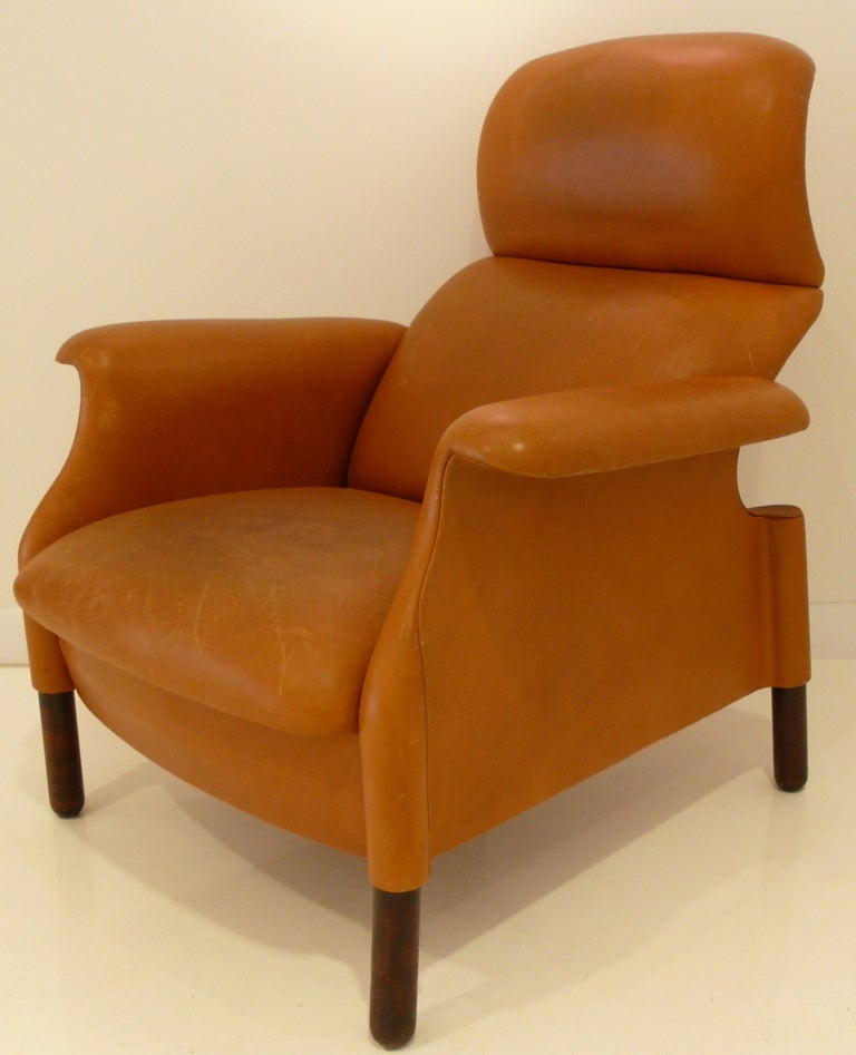Sanluca armchair by achille and pier giacomo castiglioni at 1stdibs - Pier one lounge chairs ...