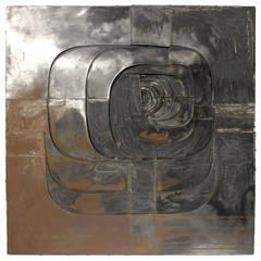 Steel Wall Sculpture by Amadeo Gabino