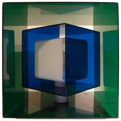 Stilnovo Kinetic Cube Lamp