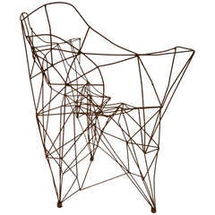 Jazzy Chair Sculpture by John Chase Lewis