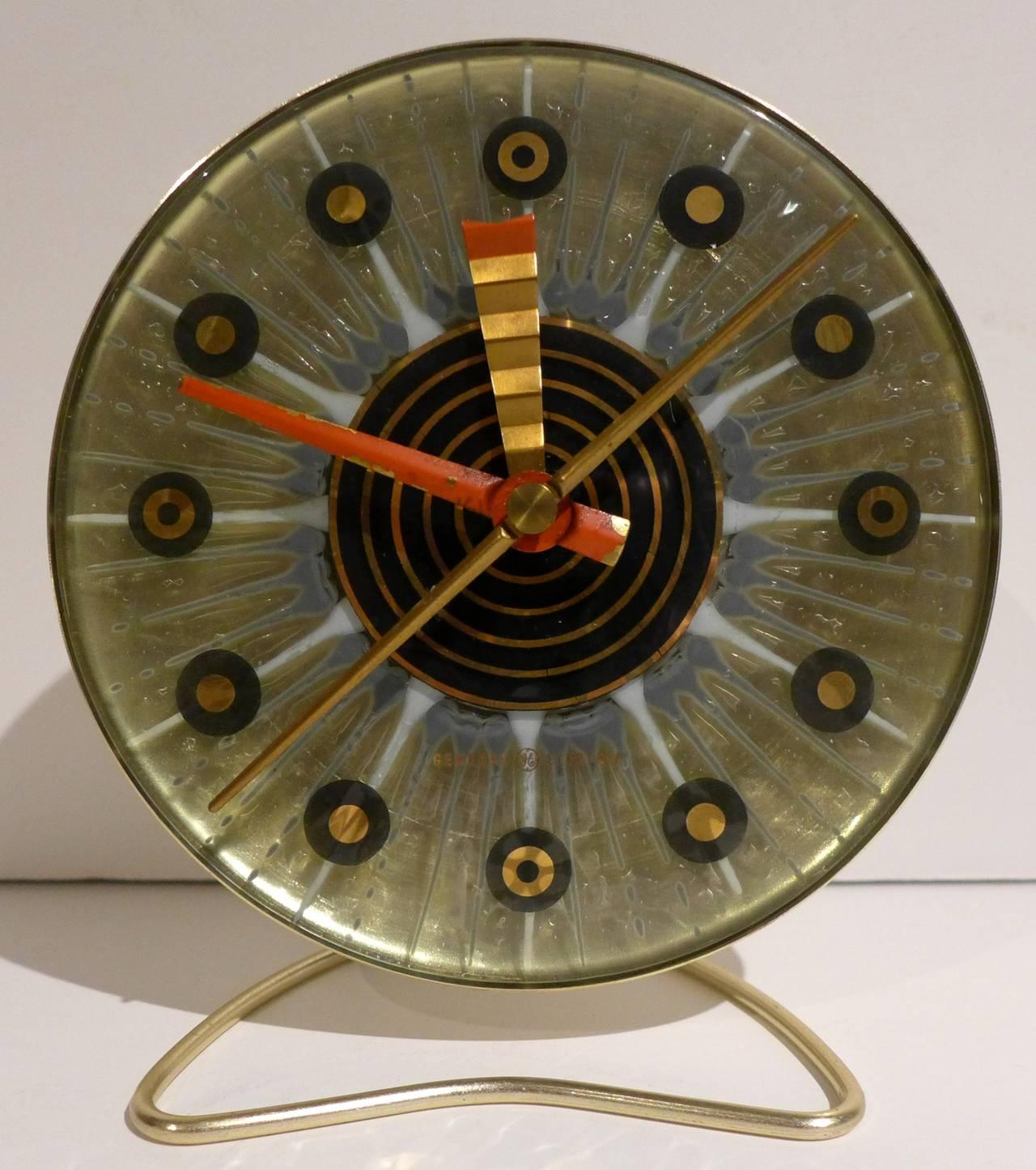 Higgins Clock For General Electric At 1stdibs