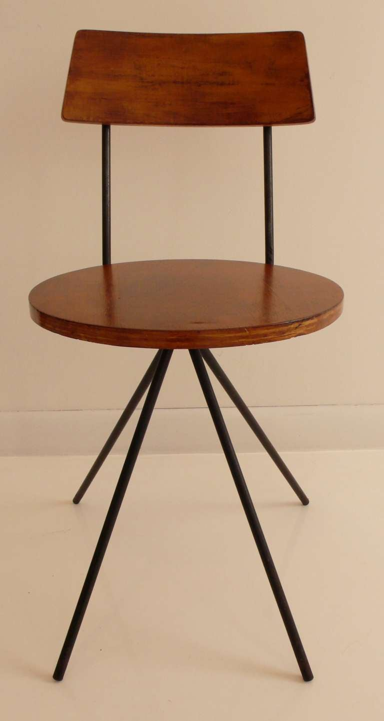 rare norman cherner chair 2
