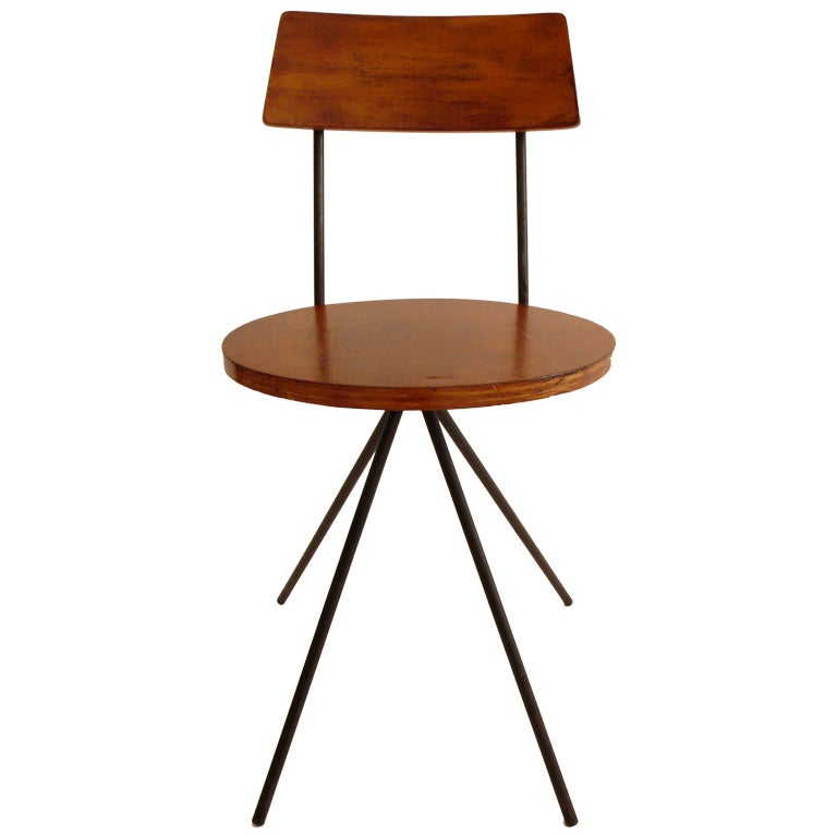 Rare Norman Cherner Chair For Sale
