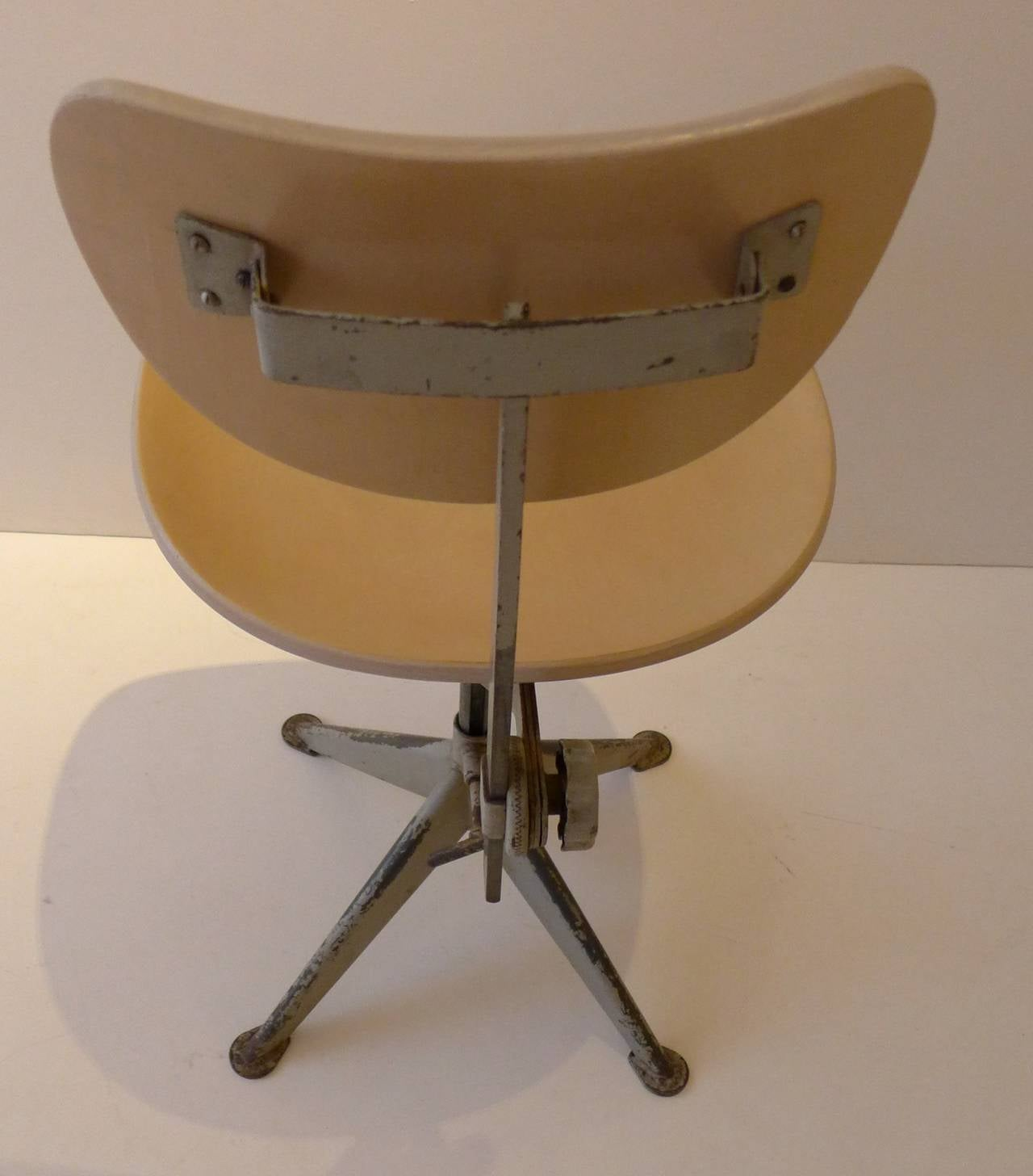 Molded Odelberg Olsen Work Chairs For Sale