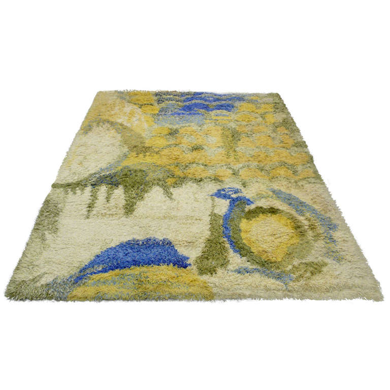 14 X 10 Japanese Modernist Rug At 1stdibs