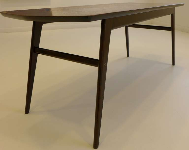 Midcentury Marquetry Cocktail Table In Excellent Condition For Sale In New York, NY