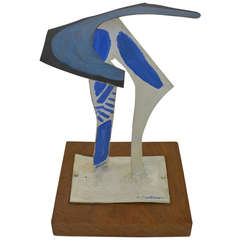 """""""Sea Abstract,"""" a Sculpture by Abbott Pattison"""