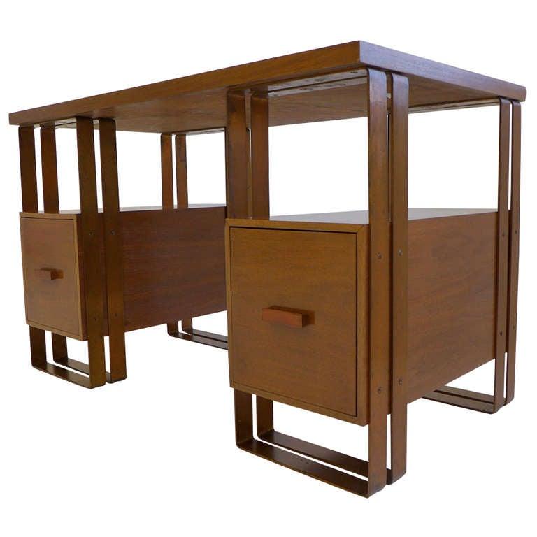Deskey Desk Machine Age Desk For Sale
