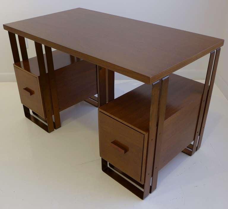 Art Deco Deskey Desk Machine Age Desk For Sale