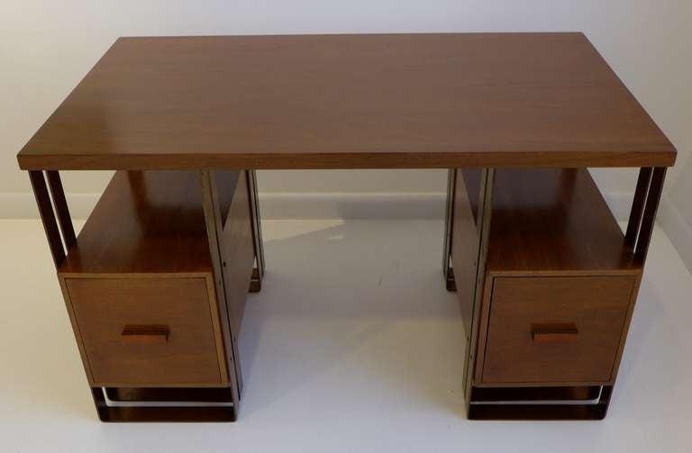 American Deskey Desk Machine Age Desk For Sale