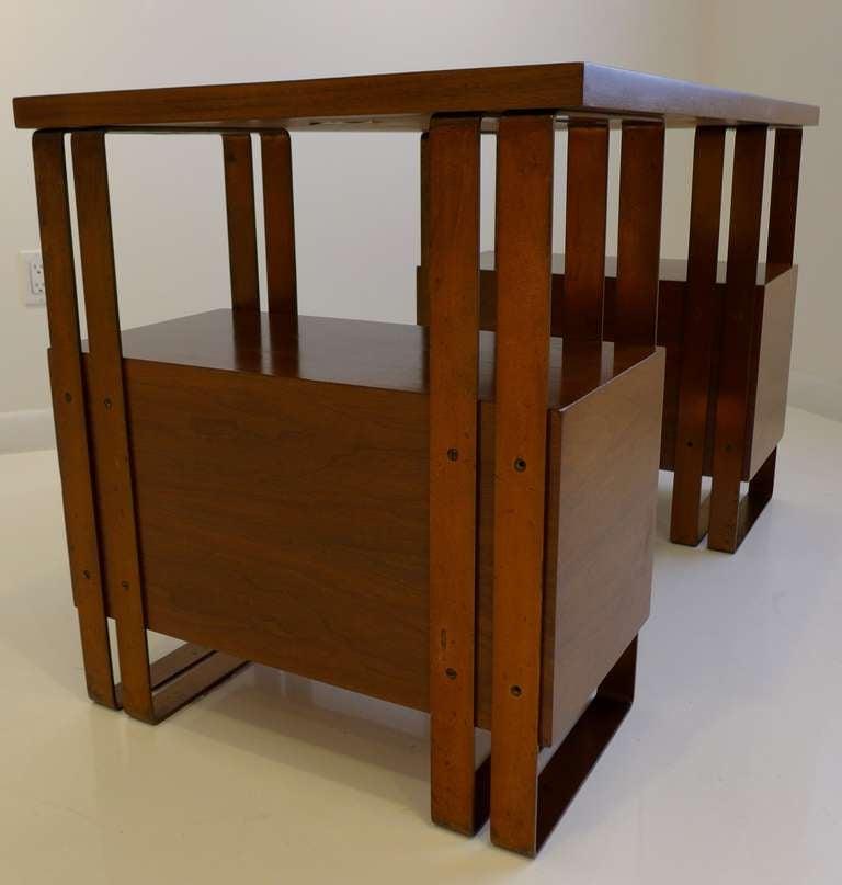 Mid-20th Century Deskey Desk Machine Age Desk For Sale