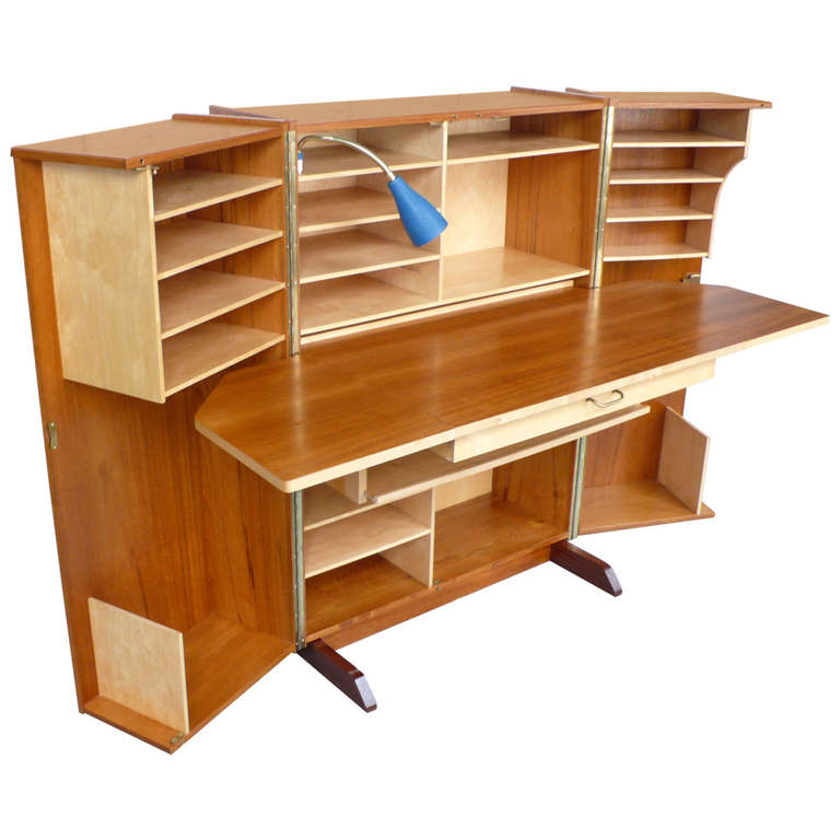 Norwegian Desk In A Box At 1stdibs