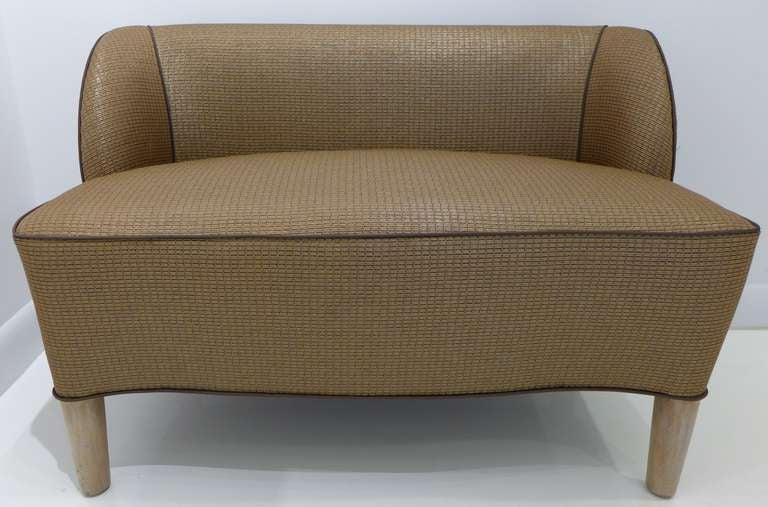 Mid-Century Modern 1938 Dunbar Slipper Bench For Sale