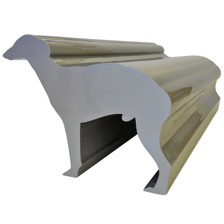 Whippet Bench by Radi Designers For Sale