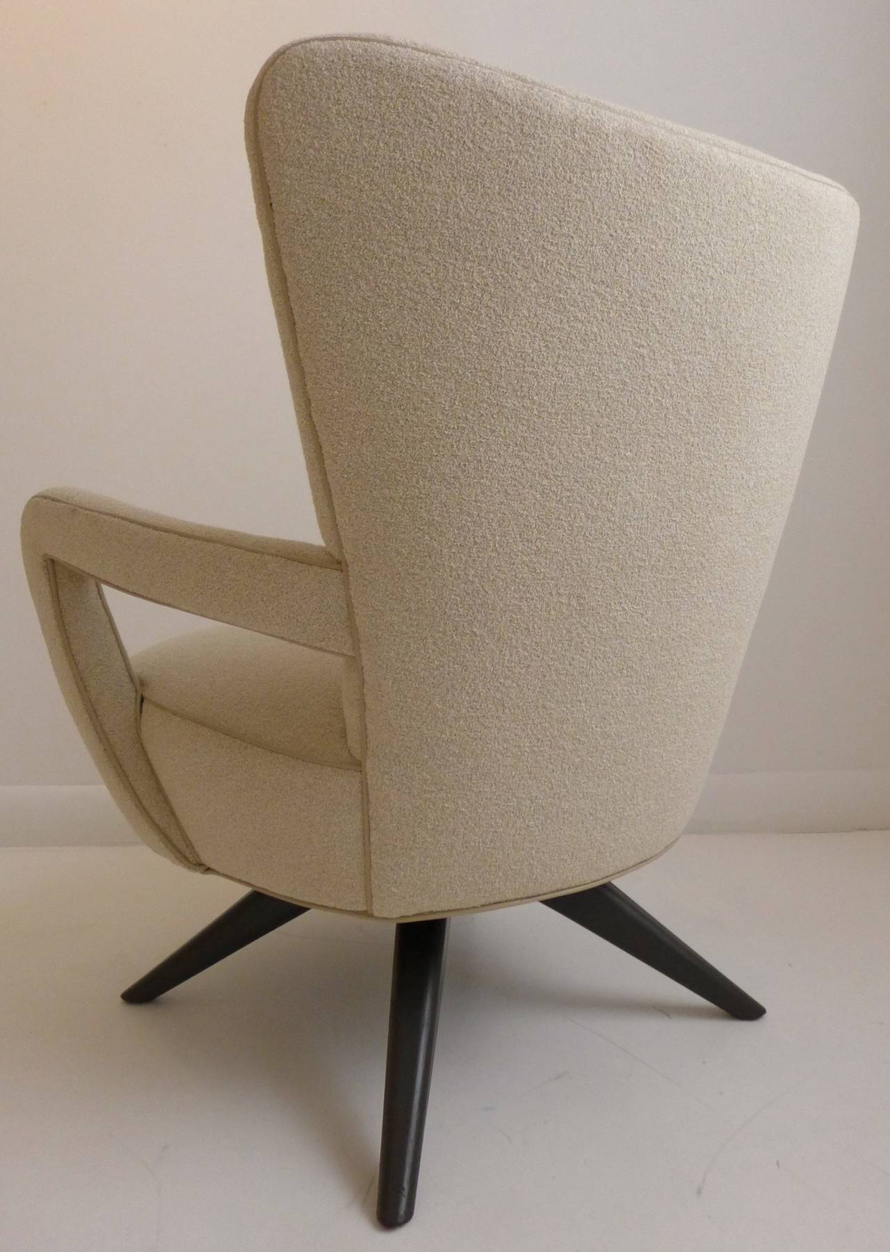 American Pair of Armchairs For Sale