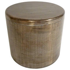 Philolaos Hammered Steel Canister