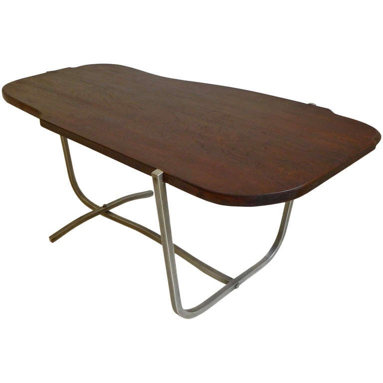 Unique alfred bush cocktail table at 1stdibs for Unusual cocktail tables