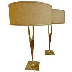 Pair of Mid-Century Lamps by Laurel