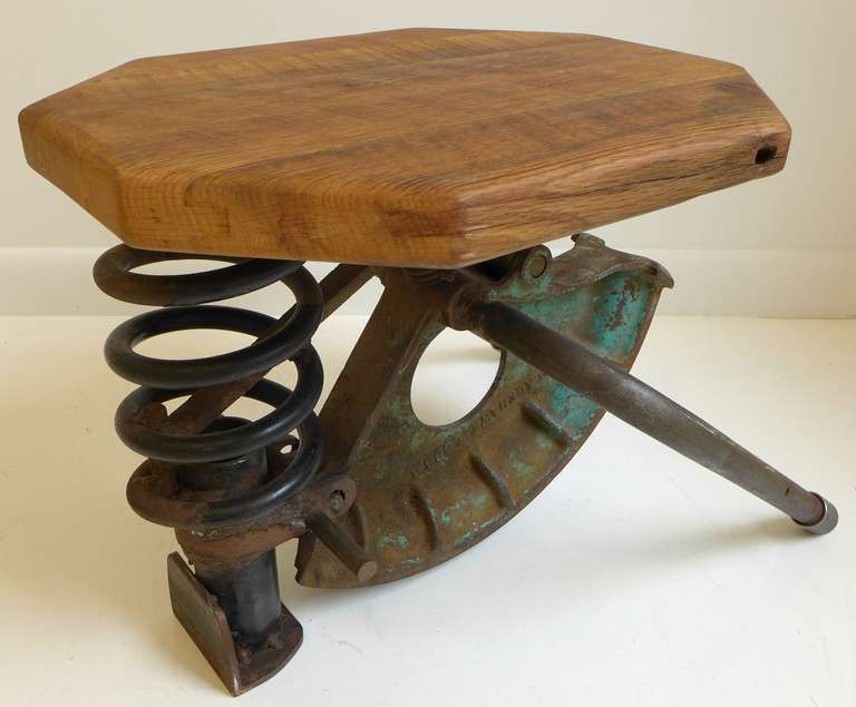 Industrial High-Tech Side Table/Seat For Sale