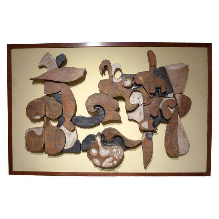 Frans Wildenhain Ceramic Mural For Sale