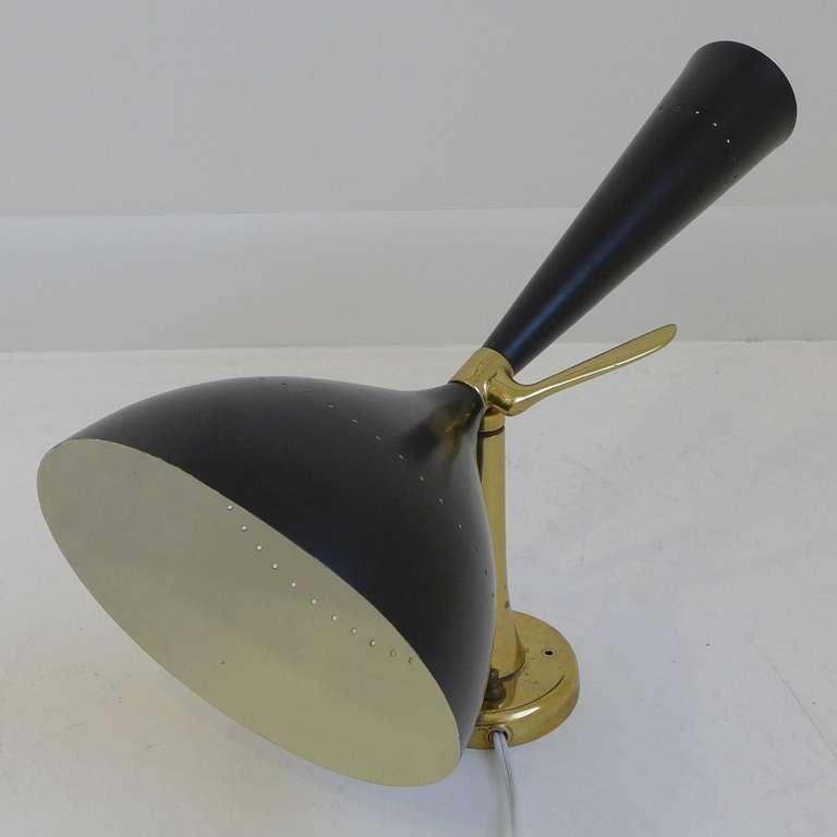 Rare Stilnovo Applique In Excellent Condition For Sale In New York, NY