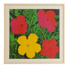 Andy Warhol Flowers Nouvelles Images