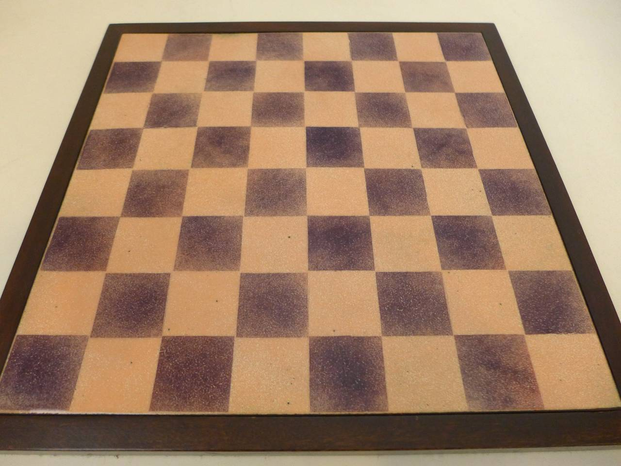 Italian Paolo De Poli Enamel Chessboard For Sale