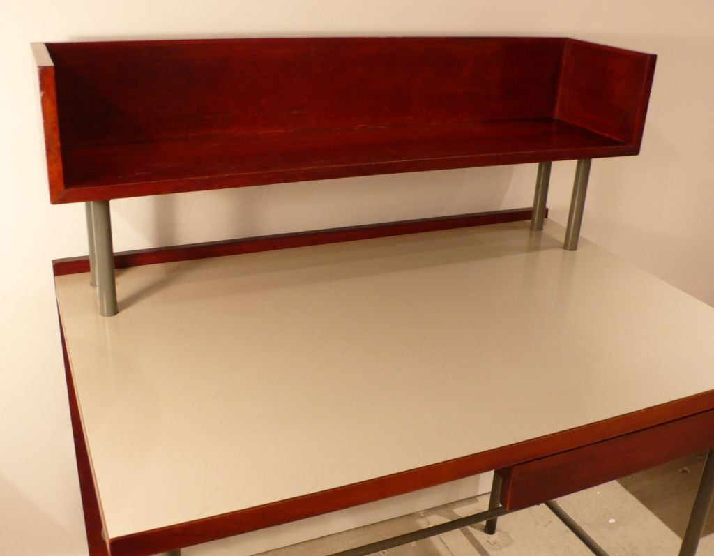Unusual and striking gerald luss desk at 1stdibs for Unusual writing desks