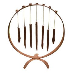 Wrought Iron Wind Chimes