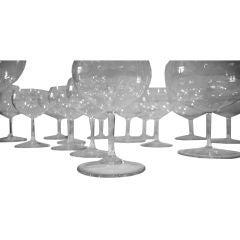 Set of Richard Sussmuth Glassware
