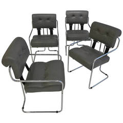 Set of Four Pace Tucroma Dining Chairs