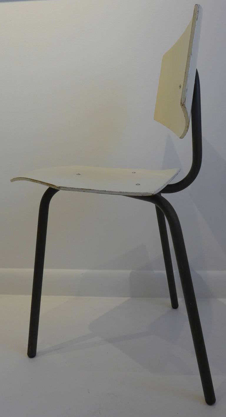 Set of Four Chairs by Dutch Company Auping For Sale 2