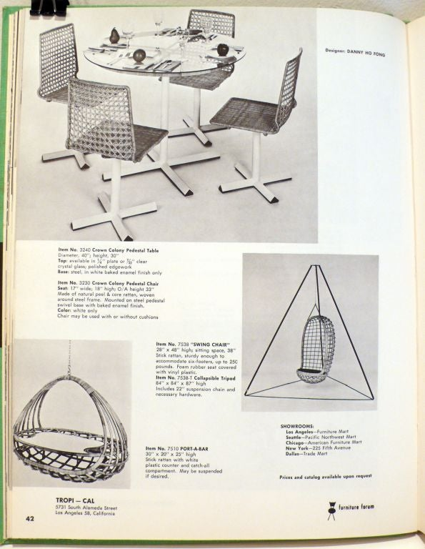 Mid-20th Century Furniture Forum for 1963 For Sale