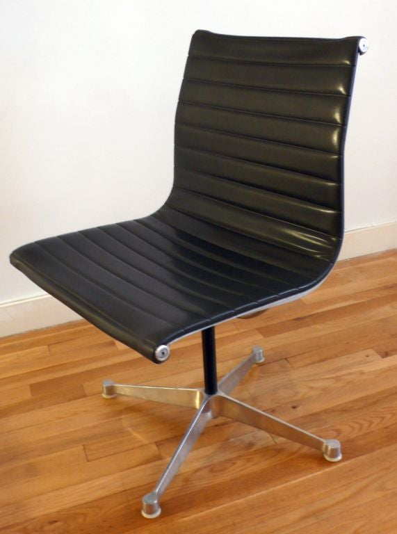 Eames Aluminum Group Side Chair At 1stdibs