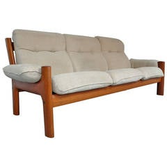 Norwegian Teak Sofa by Ekornes
