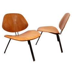 Pair of Osvaldo Borsani P-31 Chairs