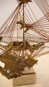 """Abstract Herbert Seiler Sculpture """"Africa"""" image 3"""