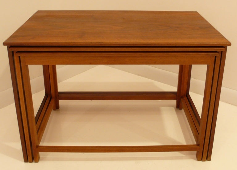 Mid-Century Modern Jacob Kjaer Nest of Tables For Sale