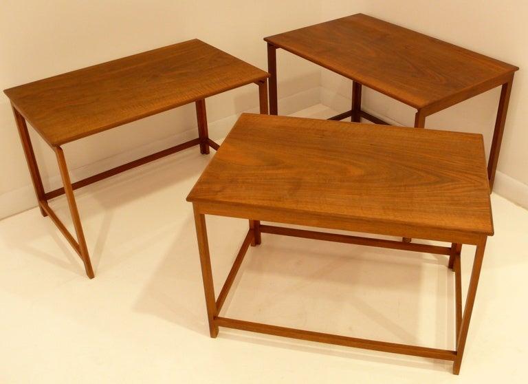 Danish Jacob Kjaer Nest of Tables For Sale