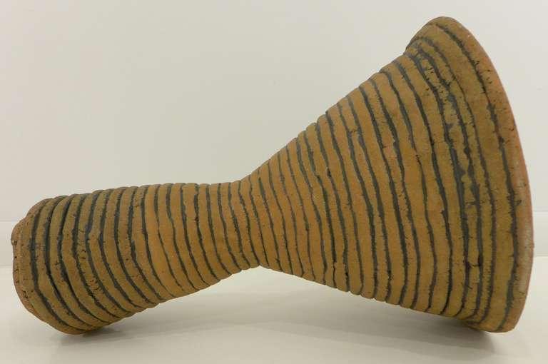 "Ceramic Sculpture ""Funnel"" by Elvira Peake 3"